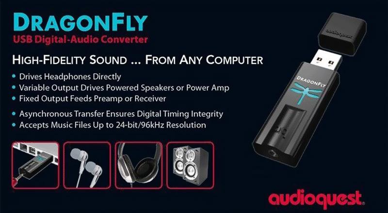 Audioquest DragonFly schema