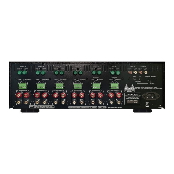 Rotel RMB 1512 V2 face arriere