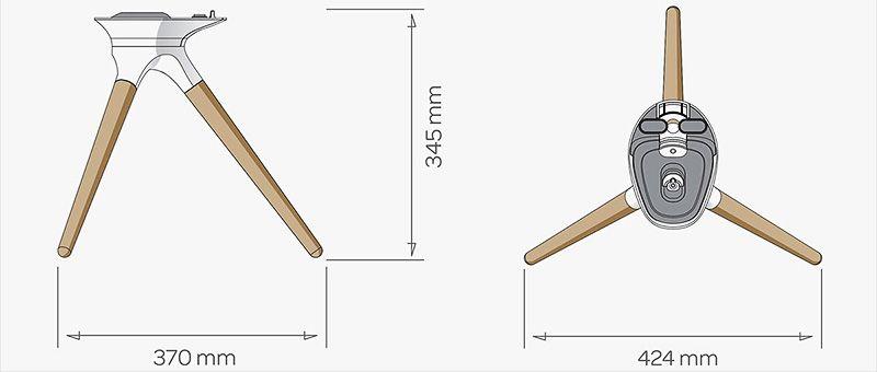 Devialet treepod dimensions 01