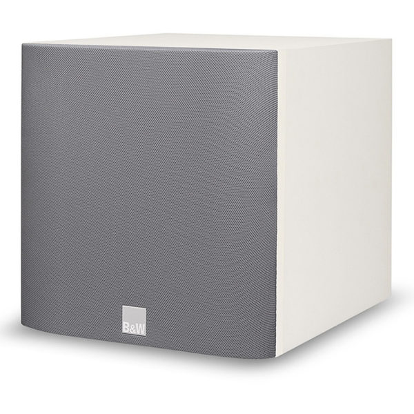 Bowers & Wilkins ASW608 blanc grille 1