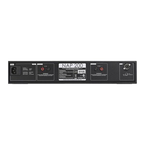 Naim Audio NAP 200 DR arrière 1