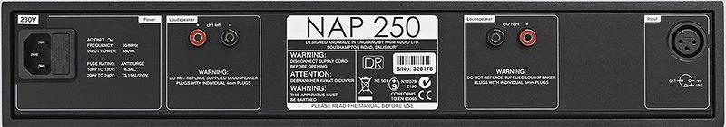 Naim Audio NAP 250 DR arrière full