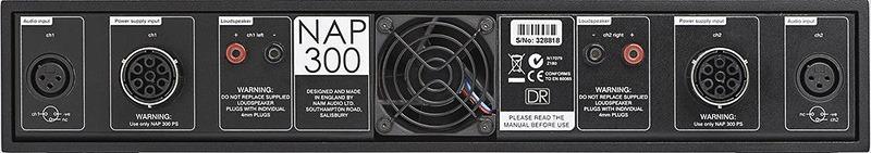 Naim Audio NAP 300 DR arrière