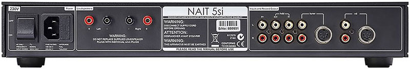 Naim NAIT 5Si face arriere 1