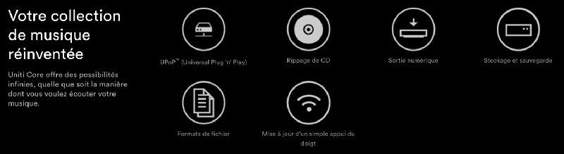 Naim Uniti Core Logos