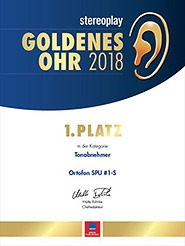 spu 1s goldenes ohr award 20018 stereoplay