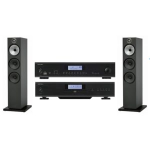 Pack Rotel CD14 + Rotel A14 + Bowers & Wilkins 603