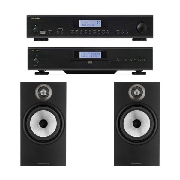 Pack Rotel A12 + Rotel CD14 + Bowers & Wilkins 606