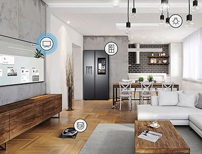 Samsung QE49Q70R SmartThings