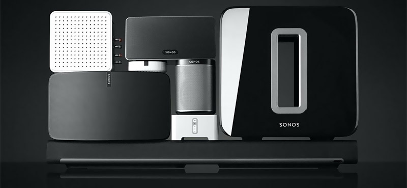 Sonos stacked family