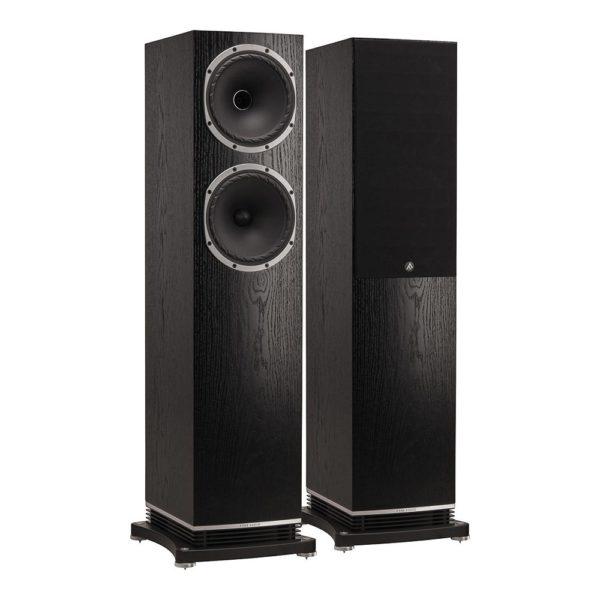 Fyne audio F502 bois noir 1