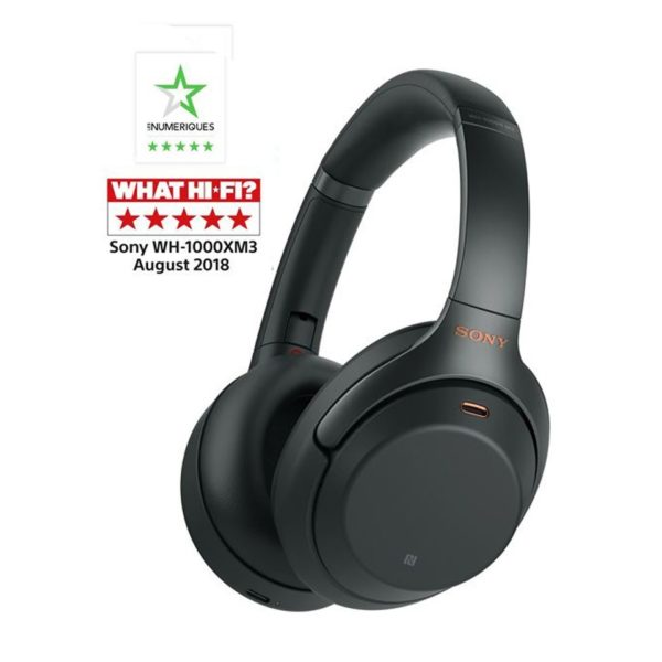 Sony WH1000XM3 casque Bluetooth à reduction de bruit