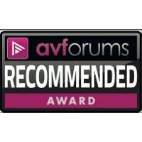 AV forums Recommended Award