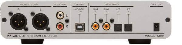 Musical Fidelity MX-DAC D 600
