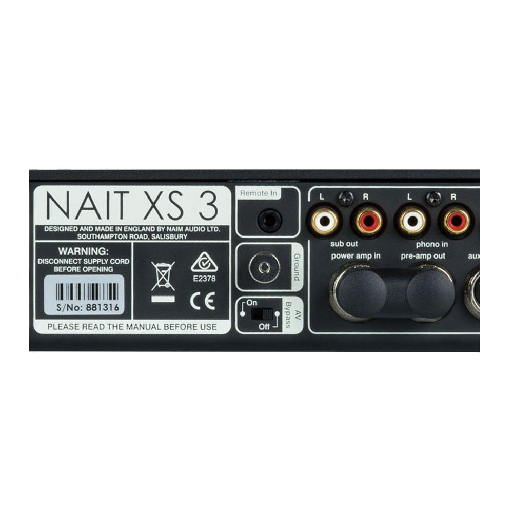 Naim Nait XS3 entree Phono ampli intégré Digithome Hifi