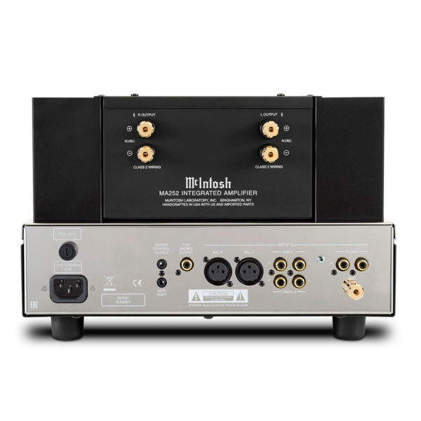 McIntosh MA252 CONNECTION DIGITHOME HIFI