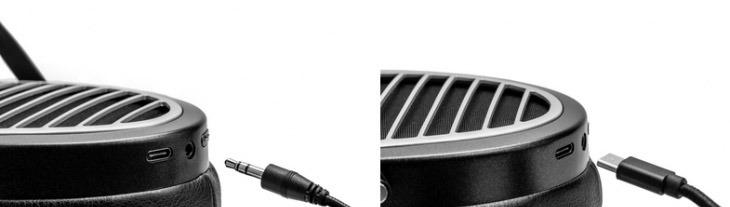 Hifiman Ananda BT - prise USB & Jack