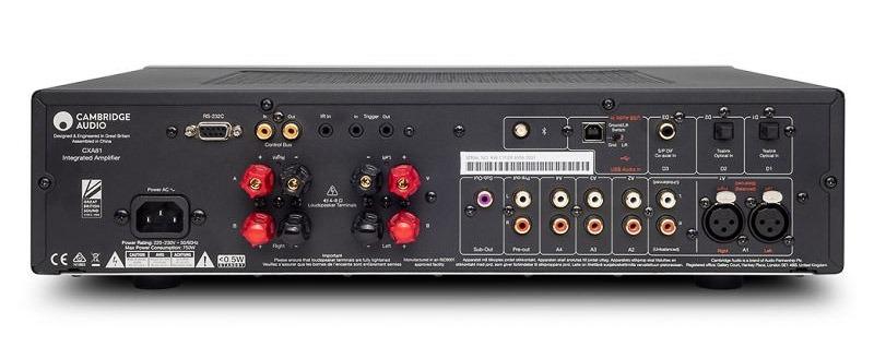CXA81 Entrées numériques avec DAC