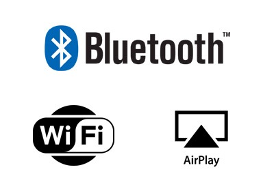 Bluetooth Wi Fi AirPlay