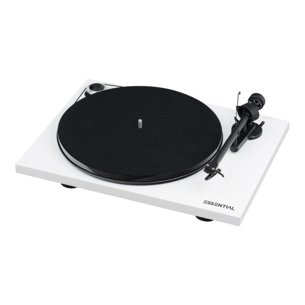 Pro Ject Essential III blanc 1