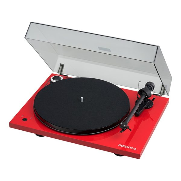 Pro Ject Essential III rouge 2
