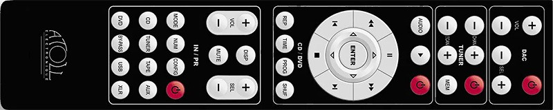 Télécommande Atoll série IN-SE
