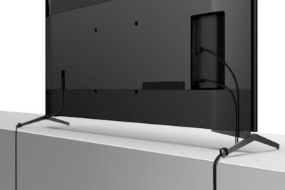 SONY KD 75XH9505 Passage de câbles intégré