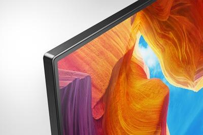 SONY KD 75XH9505 Surface sans bords en aluminium
