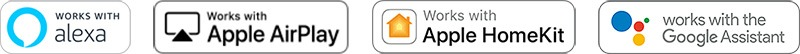 Apple AirPlay Apple HomeKit Google Home Alexa