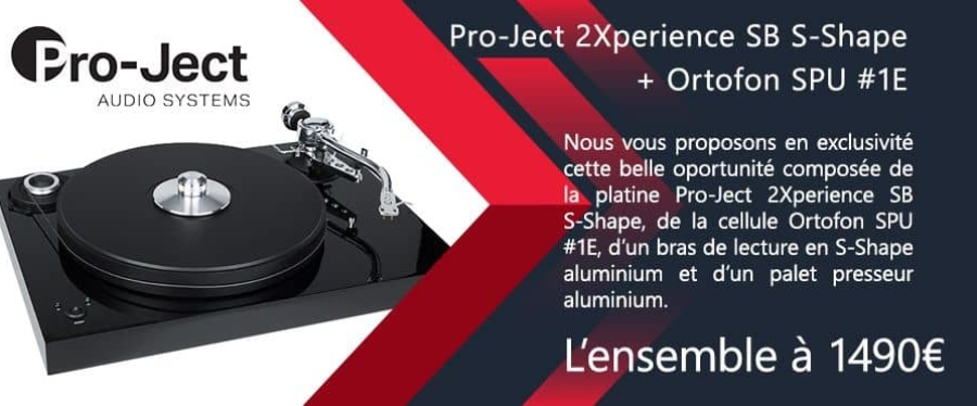 Platine vinyle Pro Ject 2Xperience SB S Shape