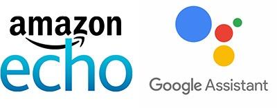 google assistant amazon echo