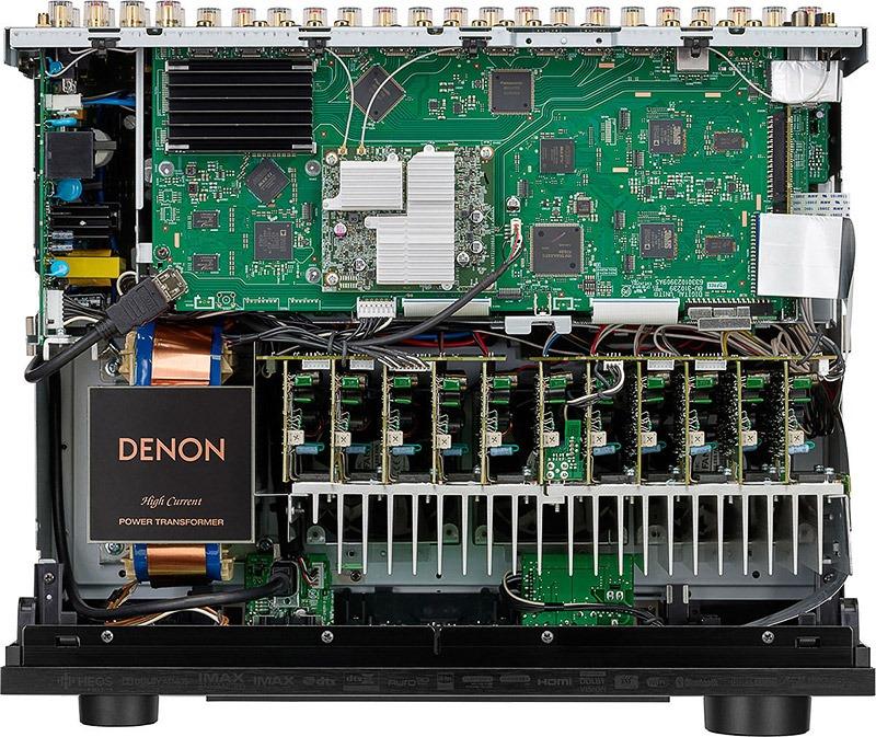Denon AVC X6700H Noir Intérieur 1