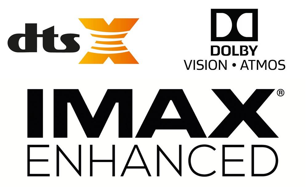 Dolby Vision Atmos Imax Enhanced DTS X