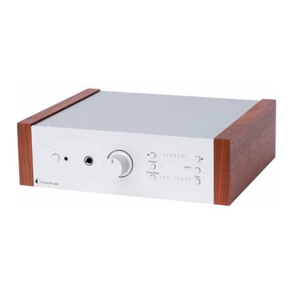 Phono Box DS2 USB gris bois de rose