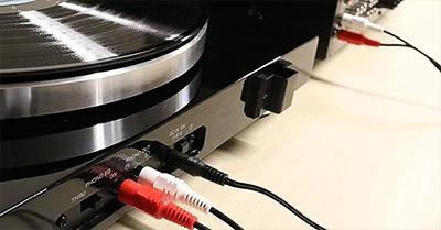 Yamaha RX V6A entrée phono