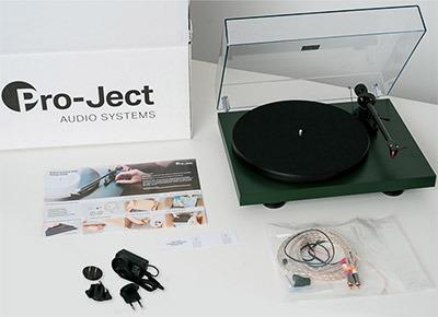 Pro Ject Debut Carbon EVO accessoires