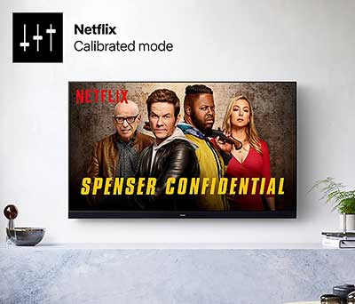 Mode calibré Netflix
