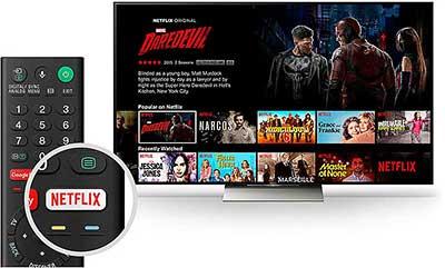 Sony UBP X1100ES Netflix