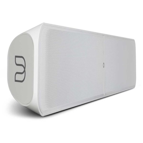 Bluesound Pulse Soundbar 2i blanc coté avant