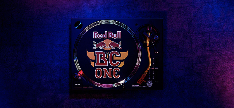 Technics SL 1200MK7R Red Bull BC One Limited Edition Design