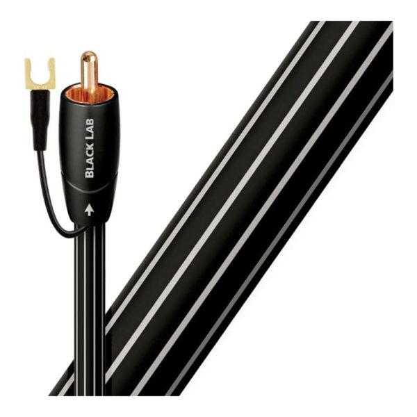 Câble audio RCA pour caisson de basses AudioQuest Black Lab
