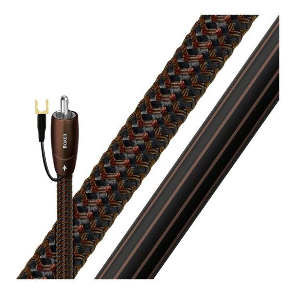 Câble audio RCA pour caisson de basses AudioQuest Boxer