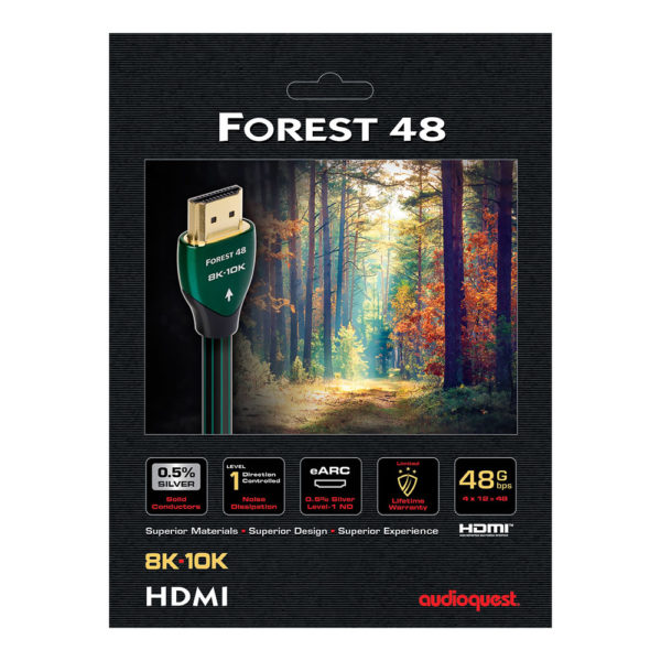 AudioQuest Forest 48 packaging
