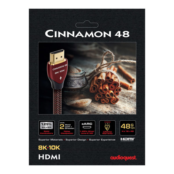 Cable HDMI AudioQuest Cinnamon 48 packaging