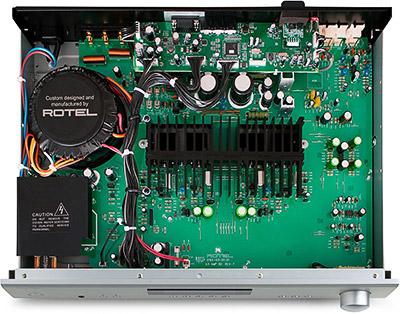 Rotel A11 Tribute Edition Intérieur 400px