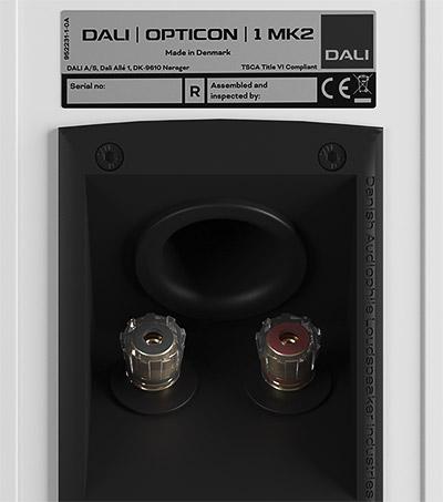 Dali opticon 1 mk2 ports reflex