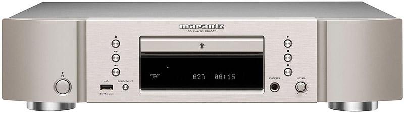 Marantz CD6007 gold silver