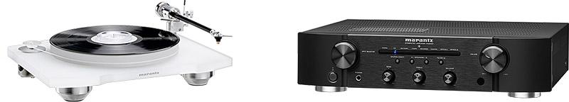 Marrantz PM6007 Entrée phono intégrée améliorée