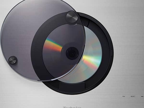 Technics SC C70 MK2 EGS Mecanisme elegant de lecteur CD